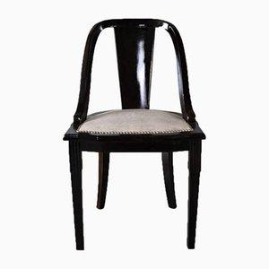 """Französische Art Deco """"Gondola"""" Esszimmerstühle, 6er Set"""