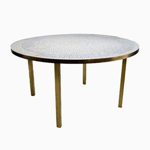 Tavolino da caffè Mid-Century con mosaico di Berthold Muller