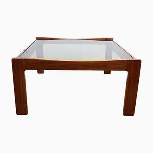 Table Basse Mid-Century en Verre par Myer