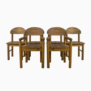 Dänische Rainer Daumiller Esszimmerstühle, 1970er, 6er Set