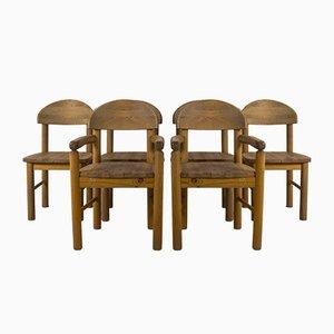 Dänische Rainer Daumiller Stil Esszimmerstühle, 1970er, 6er Set