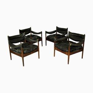 Vintage Modus Sessel von Kristian Vedel für Soren Willadsen, 4er Set