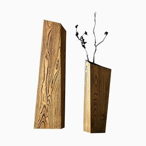 Acacia Nun Vases by Matthias Scherzinger, Set of 2