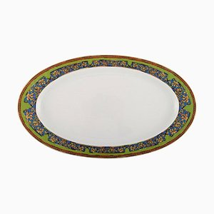 Large Russian Dream Serving Dish in Porcelain by Gianni Versace for Rosenthal
