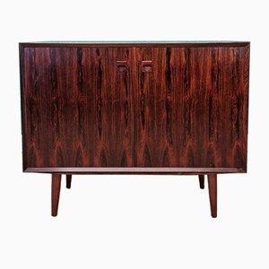 Danish Rosewood Two Door Sideboard Cabinet by Erik Brouer, 1960s