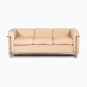 Le Corbusier LC 2 Fabric Sofa from Cassina