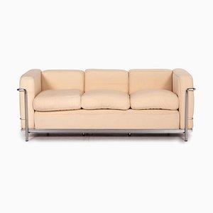 Le Corbusier LC 2 Stoff Sofa von Cassina