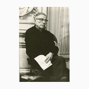 Jean-Paul Sartre, 1968