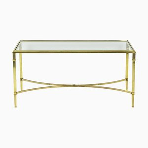 Coffee Table in Solid and Gilt Bronze, 1970s