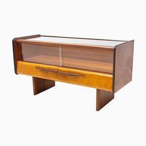 Mid-Century Side Table or Glazed Cabinet, Czechoslovakia, 1960´s by Hogan