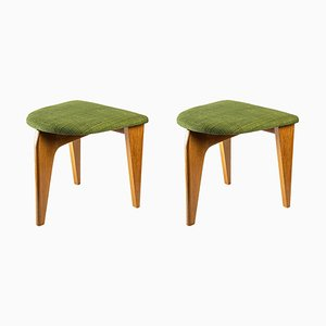 Stools by Guillerme and Chambon, Set of 2