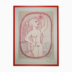 Giuseppe Viviani - Akt - Lithographie - 1961