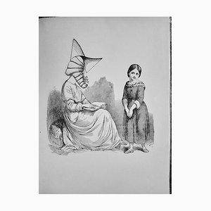 Max Ernst - La Dame Ovale - Illustriertes Vintage Buch - 1934