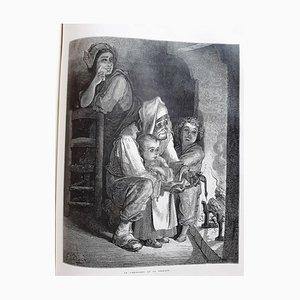 Gustave Doré - Fables de La Fontaine - Illustrated Book - 1868