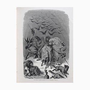 Gustave Doré - DIM Histoire du Capitaine Castagnette - Illustrated Book - 1879