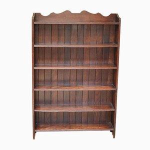 Libreria in legno di quercia massiccio