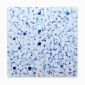 Blau, (Abstrakte Malerei), 2016