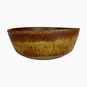 Mid-Century Modern Large Ceramic Bowl by Carl-Harry Stålhane for Rörstrand, Sweden