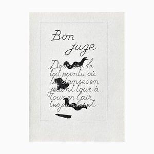 Dlm117 - Good Judge - Georges Braque - Lithograph