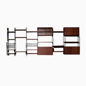 Vintage Teak Wall System by Kajsa & Nils Strinning for String