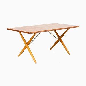 Tavolo da pranzo AT-303 di Hans J. Wegner per Andreas Tuck, anni '60