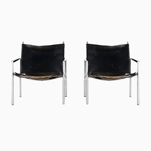 SZ02 Lounge Chairs by Martin Visser for 't Spectrum, Set of 2