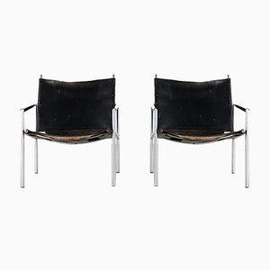 SZ02 Sessel von Martin Visser für 't Spectrum, 2er Set