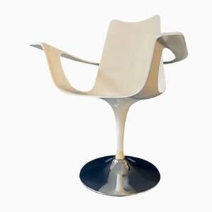 Silla Tulip de Luigi Colani para Lusch, años 70