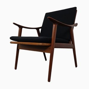 Model 563 Teak Armchair by Fredrik Kayser for Vatne Furniture, 1950s