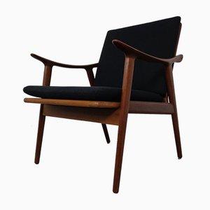 Modell 563 Teak Armlehnstuhl von Fredrik Kayser für Vatne Furniture, 1950er