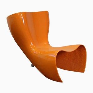 Filz Stuhl mit Schale aus Fiberglas von Marc Newson für Cappellini