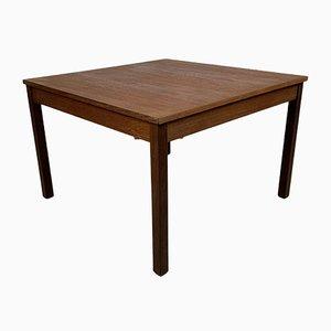 Tavolino da caffè quadrato vintage di Domino Mobler, Scandinavia