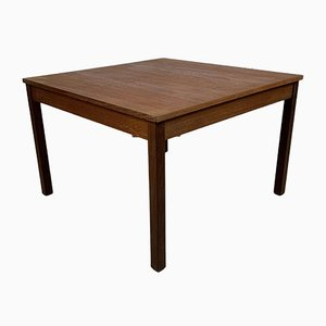 Vintage Scandinavian Square Coffee Table by Domino Mobler
