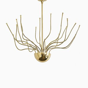 Lámpara de techo vintage grande de Florian Schulz
