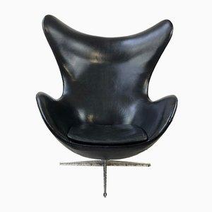 Chaise Egg FH-3316 par Arne Jacobsen pour Fritz Hansen, 1960s