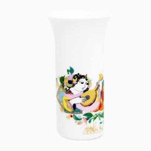Vase von Bjørn Wiinblad für Rosenthal