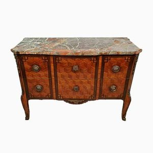 Louis XV Style Jigsaw Commode, 1850s