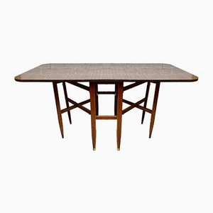 Mesa de comedor plegable Mid-Century de formica
