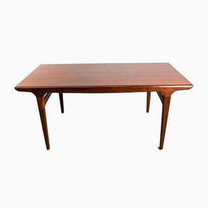 Tavolo da pranzo in teak di Johannes Andersen per Uldum Mobelfabrik, Danimarca, anni '60