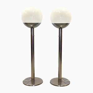 Model P428 Floor Lamps by Pia Guidetti, 1970s, Set of 2