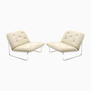 F656 Lounge Chairs by Kho Liang Ie for Artifort, 1971, Set of 2