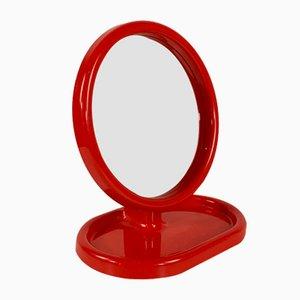 Specchio da tavolo regolabile di Olaf von Bohr per Gedy, anni '70