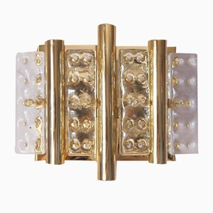 Brass Wall Lamp by Carl Fagerlund for Vitrika