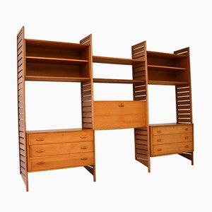 Vintage Teak Ladderax Storage Unit from Staples Cricklewood