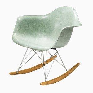 Sedia a dondolo Seafoam di Charles & Ray Eames per Herman Miller, 1954