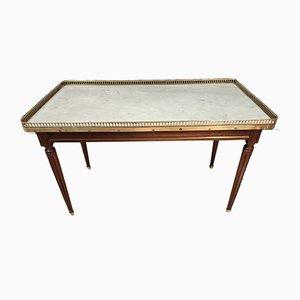 Mesa de centro Louis XVI de caoba
