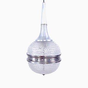 Lámpara de techo Rostrato era espacial de vidrio, años 70