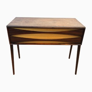 Mid-Century Brazilian Rosewood Side Table or Cabinet by Rimbert Sandholdt