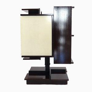 Italienisches Bücherregal aus Holz von Claudio Salocchi, 1960er