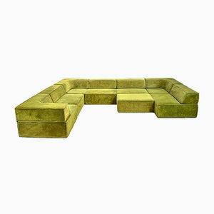 Modulares dreiteiliges Vintage Sofa Set von COR